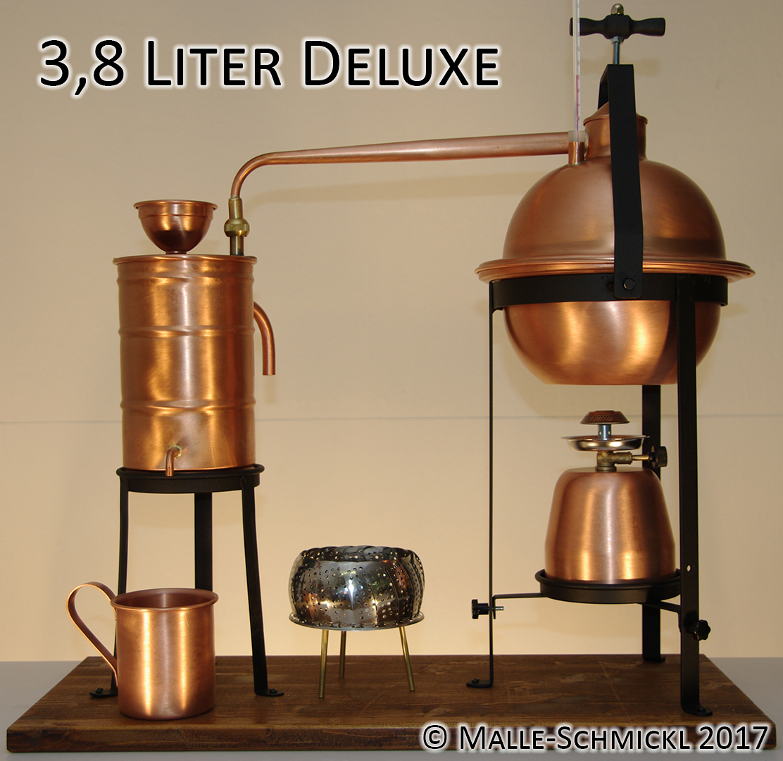 Still DELUXE, 3.8 Liters