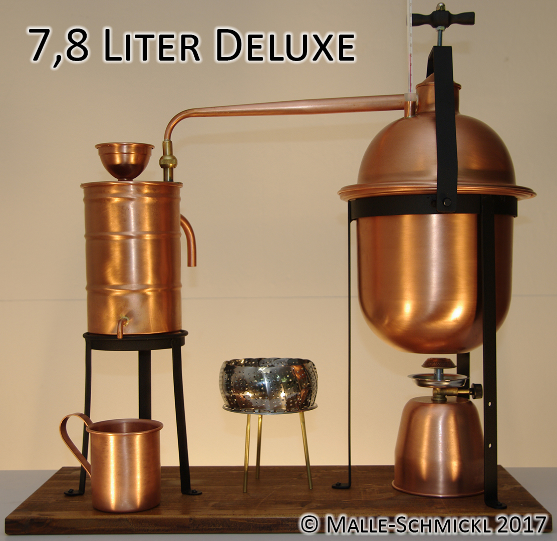 Still DELUXE, 7.8 liters
