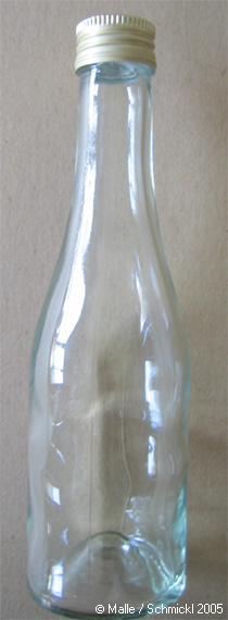 Glass bottle 200 ml