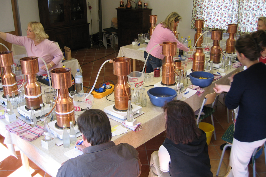 Distilling - Essential Oil Distillation Classes
